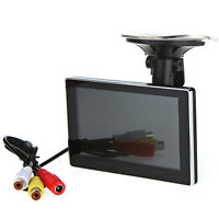 """4.3"""" LCD Monitor with Suction Cup For Backup Camera"""