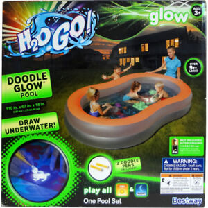 H2O Go! Glow in the Dark Pool - New in the Box