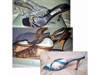 Bargin-priced Ladies Diamond Detail Heels Shoes