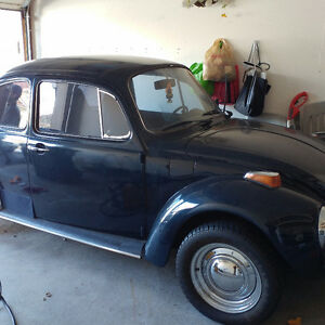 1973 VW SUPER BEETLE $3800  avail to show sat am and sunday am
