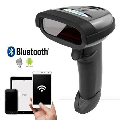 Bluetooth Wireless Barcode Scanner Portable Laser 1d Bar Code Reader For Android