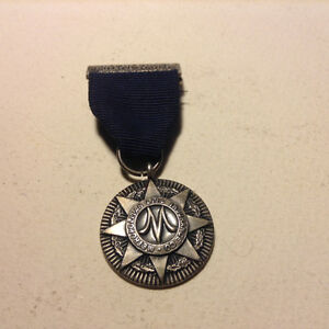 Metropolitain Life Insurance, Faithful Service Medal With Ribbon