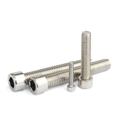 Wholesale Lots M3 M5 M6 M8 Screw Metric Hex Socket Cap Head Bolt Stainless Steel