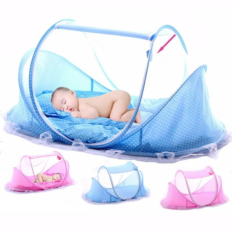 Portable Foldable Baby Bed Folding Mosquito Net Durable