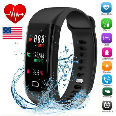 HOT F07 Smart Bracelet Sports Band Watch Heart Rate Step Calorie Counter IP68