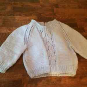 Hand Knit / Hand made Baby Sweaters Cambridge Kitchener Area image 4