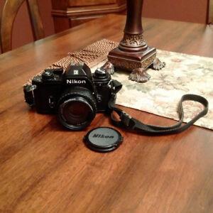 Nikon EM, Lens Series E 50mm, 1:1,8 Vintage