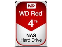 4tb Western Digital Red Hard Drives 2 for sale