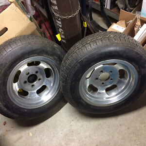 Pair of Vintage Shelby Cal 500 Slots