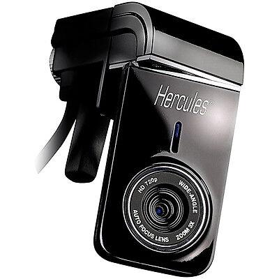 Hercules 5-MP-Webcam Dualpix HD720p mit Autofokus und Mikrofon