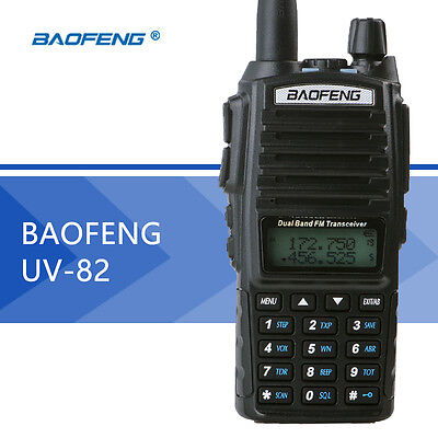 Baofeng UV-82 136-174/400-520MHz Ham Two way Radio Walkie Talkie US  EU UK Plug  for sale  Shipping to Nigeria