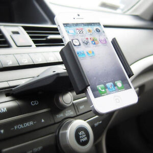 Car Auto CD Slot Mount Cradle Holder Stand For Mobile Smart-Cell