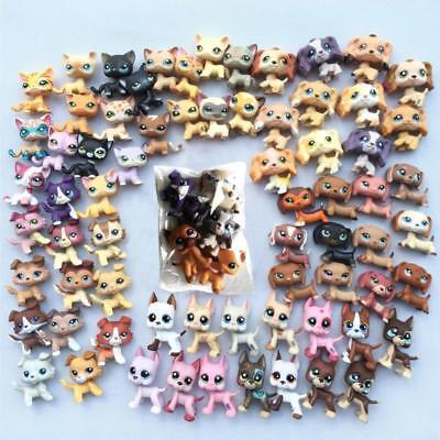 5pcs/Lot Littlest pet Shop random rare LPS Cat Dog Toy cute Christmas gift - Christmas Shop