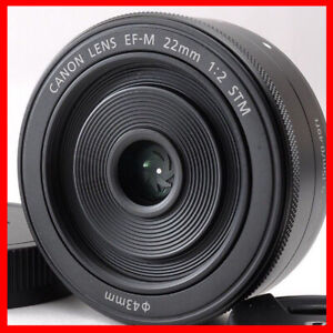 Canon EF-M 22mm f/2 STM Lens for Canon mirror less camera