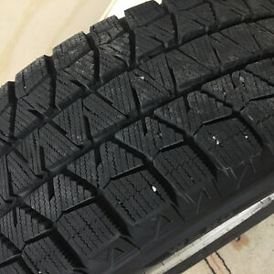 Blizzak WS80 winter tires w. aluminum rims