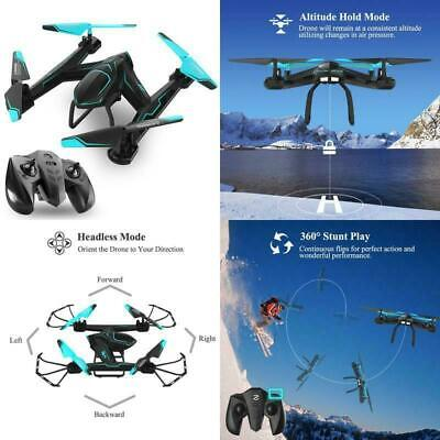 Drone Pro HD Camera Altitude Hold Go Home 6 Axis Gyro WIFI and VR Glasses