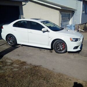 2014 Mitsubishi Lancer Evolution MR Sedan