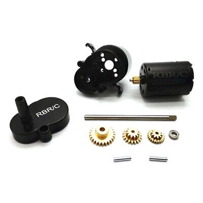 Car Parts - for WPL D12 1/10 RC Truck Car Upgrade Parts Metal Transmission Gearbox Gear Box