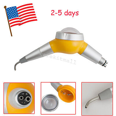 Us Dental Jet Air Polisher System Tooth Polishing Handpiece 4 Hole Unit For Sale