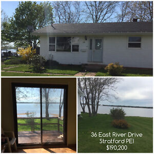 Waterfront Home for Sale - Stratford PEI
