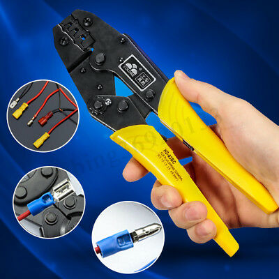 Crimping Tool Wire Crimper Plier Terminal Wire Connectors Ratcheting 0.5-6mm
