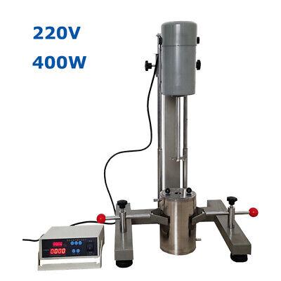 220v Lab Digital High-speed Grinding Disperser Homogenizer Mixer Machine 1.5 L