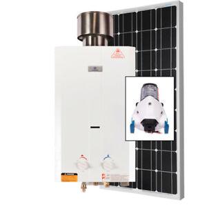 Kit L10 Eau Chaude Instantanée - Propane / Solaire 100 Watts