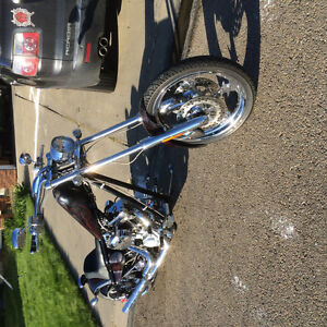 Chopper with 111 S&S engine