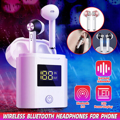 Wireless bluetooth 5 Headphones Earpods for Apple Phone Android Stereo Handfree
