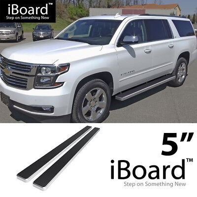 "iBoard Running Board 5"" Fit Chevy Avalanche/Suburban/GMC Yukon XL 00-18"