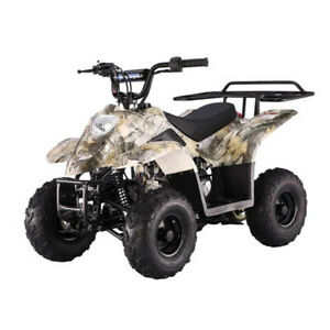 KIDS ATV 110CC AUTOMATIC WITH REVERSE AND REMOTE STOP