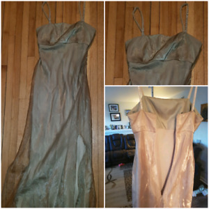 Two different custom made dresses size small