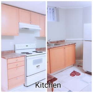 Two-Bedroom Basement Apartment with separate entrance for rent
