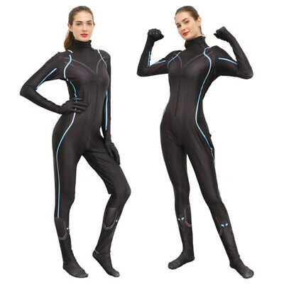 Black Widow Cosplay Jumpsuit Women Girls Zentai Halloween Costume The Avengers