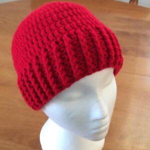 NEW - Handmade:  Warm Winter Hat or Messy Bun/Ponytail Hat