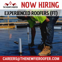 Now Hiring: Experienced Roofers (Full-Time, Year-Round) in GVA