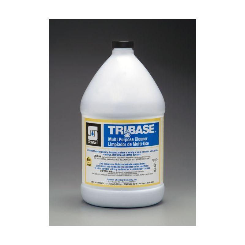 Spartan Biorenewables Tribase Multi-Purpose Cleaner, Gallons, 4 Per Case