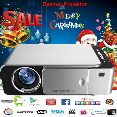 3D Beamer Full HD 1280P 5000Lumens LED Projektor Projector HDMI / USB*2 / TV
