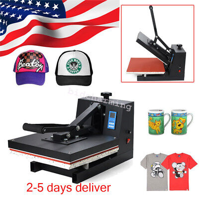 Digital Heat Press Machine Sublimation T-shirtmugplate Hat Printer Silicon Pad