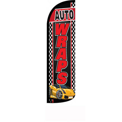 Auto Wraps Windless Swooper Flag