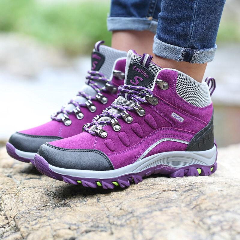Herren Damen Wanderschuhe Trekkingschuhe Turnschuhe Outdoor Sneaker Stiefel Neu