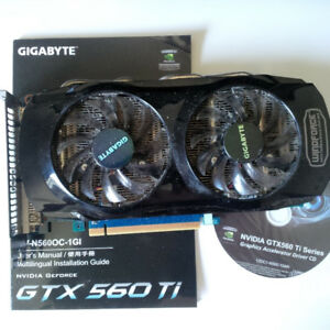 Gigabyte GTX 560 Ti Graphics Card 1GB