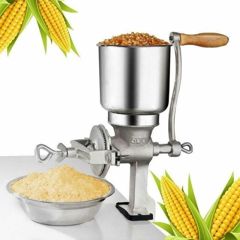 Manual Corn Grinder Flour Maker Wheat Grain Nut Mill Grinder Kitchen Tool