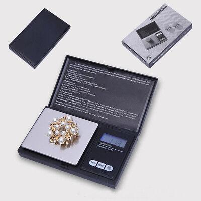 LED Digitalwaage Feinwaage Goldwaage Juwelierwaage Taschenwaage 1000g-0,1g