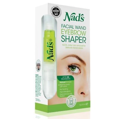 Nads Facial Wand Eyebrow Shaper Hair Removal for Delicate Facial Areas -