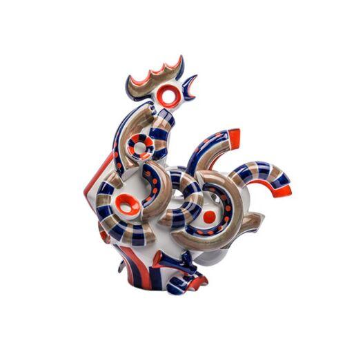Sargadelos Porcelain Rooster 3  - NEW