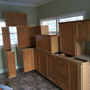 Kitchen cabinets. Sold