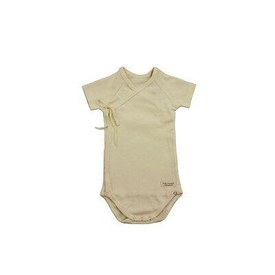 Vegan Organic Cotton Sustainable Bodysuit Baby Clothing Best for Fibromyalgia