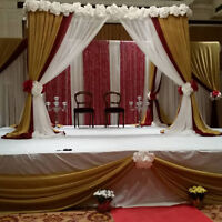 Full wedding decorating / rentals