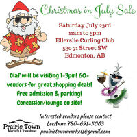 July 23 Christmas In July Market & Tradeshow